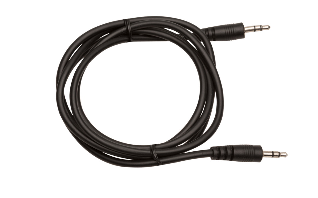 AXIWI CA-002 audio connection cable 2 x 3,5 mm male plug